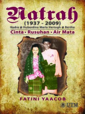 cover image of Natrah (1937-2009) - Nadra @ Huberdina Maria Hertogh @ Bertha