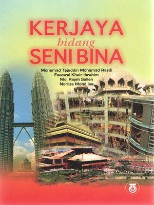 cover image of Kerjaya Bidang Seni Bina
