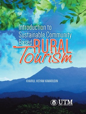 cover image of Introduction to Sustainable Community Based Rural Tourism