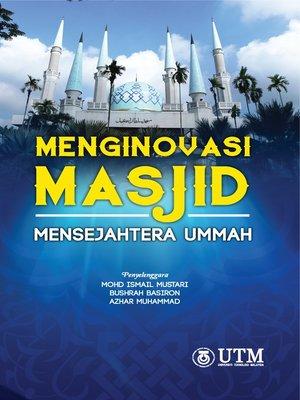 cover image of Menginovasi Masjid Mensejahtera Ummah