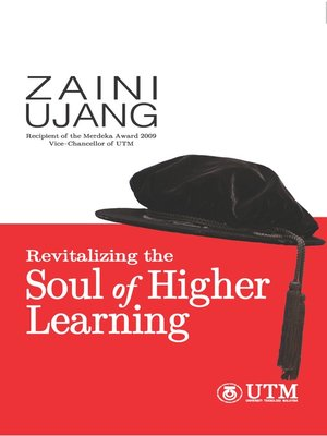 cover image of Revitalizing the Soul of Higher Learning