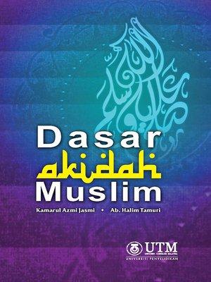 cover image of Dasar Akidah Muslim