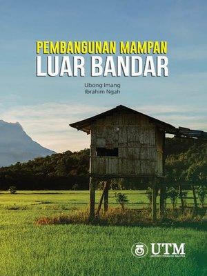 cover image of Pembangunan Mampan Luar Bandar