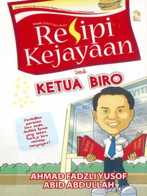 cover image of Resipi Kejayaan untuk Ketua Biro