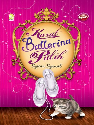 cover image of Kasut Ballerina Putih