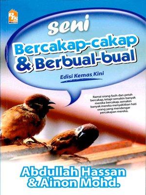 cover image of Seni bercakap-cakap & berbual-bual