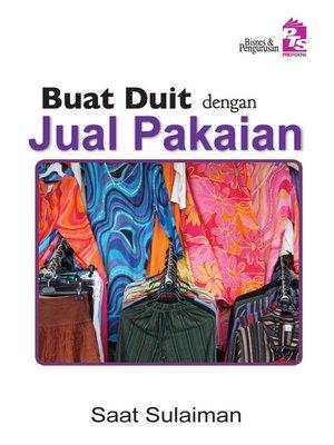 cover image of Buat Duit dengan Jual Pakaian