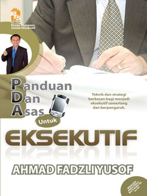 cover image of PDA untuk Eksekutif