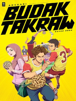 cover image of Budak Takraw #1: Skuad Baru