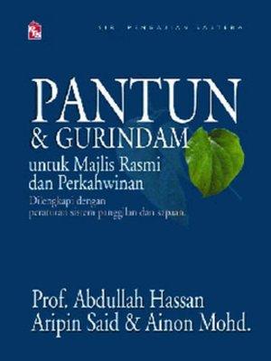cover image of Pantun & Gurindam untuk Majlis Rasmi dan Perkahwinan