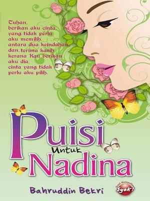 cover image of Puisi Untuk Nadina