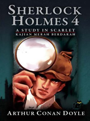 cover image of Sherlock Holmes - A Study in Scarlet