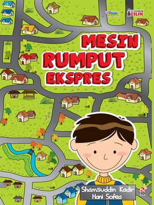 cover image of Usahawan Cilik: Mesin Rumput Ekspres
