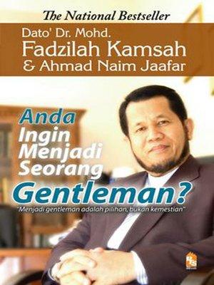 cover image of Anda ingin menjadi seorang gentleman?