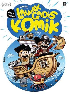 cover image of Dunia Kartun: Lawak Gadis Komik #2: Berani Mencuba