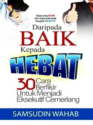cover image of Daripada Baik kepada Hebat