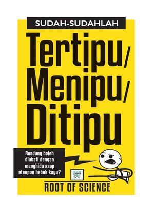 cover image of Sudah-Sudahlah Tertipu/ Menipu/ Ditipu