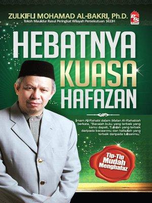 cover image of Hebatnya Kuasa Hafazan