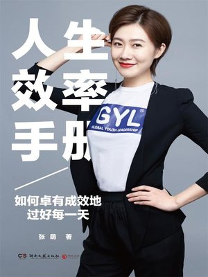 cover image of 人生效率手册