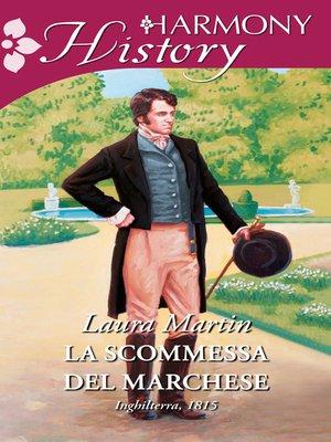 cover image of La scommessa del marchese