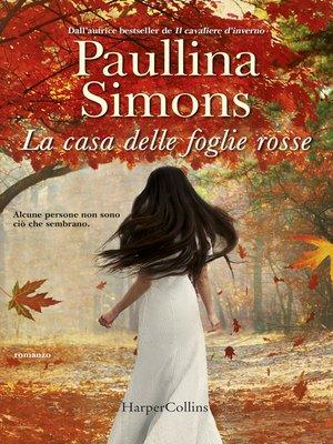 cover image of La casa delle foglie rosse