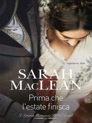 cover image of Prima che l'estate finisca