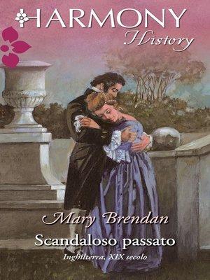 cover image of Scandaloso passato
