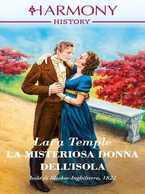 cover image of La misteriosa donna dell'isola