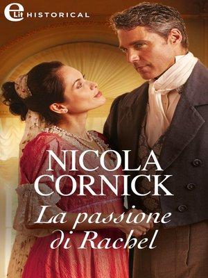 cover image of La passione di Rachel