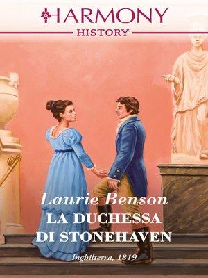 cover image of La duchessa di Stonehaven