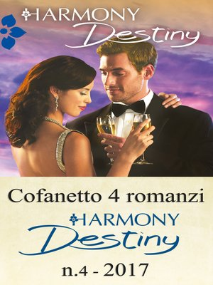 cover image of Cofanetto 4 romanzi Harmony Destiny-4