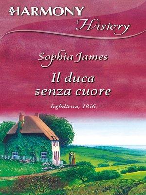 cover image of Il duca senza cuore