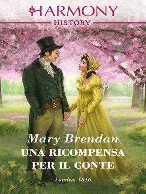 cover image of Una ricompensa per il conte