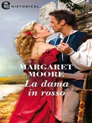cover image of La dama in rosso