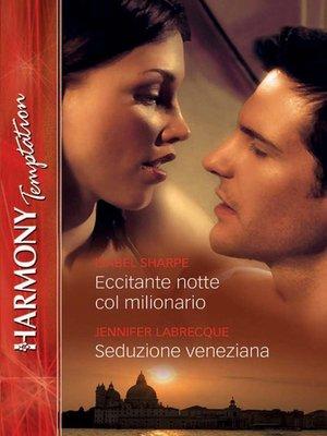 cover image of Eccitante notte col milionario