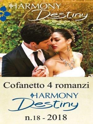 cover image of Cofanetto 4 Harmony Destiny n.18/2018