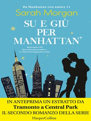 cover image of Su e giù per Manhattan