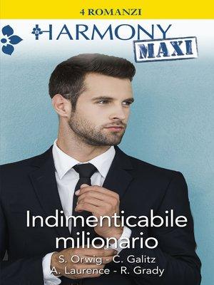 cover image of Indimenticabile milionario