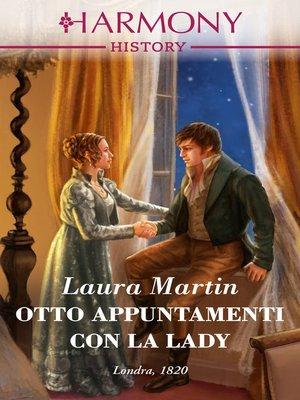 cover image of Otto appuntamenti con la lady