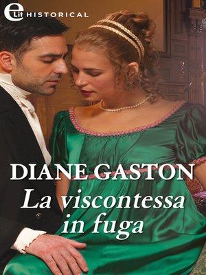 cover image of La viscontessa in fuga