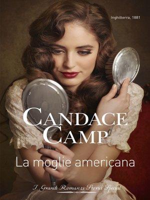 cover image of La moglie americana