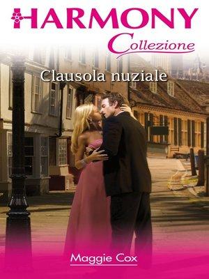 cover image of Clausola nuziale