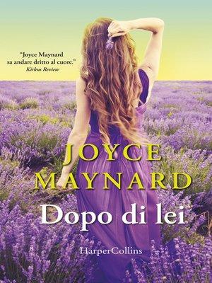 cover image of Dopo di lei