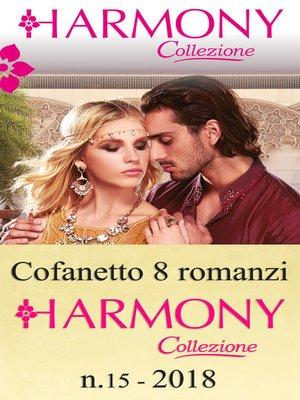 cover image of Cofanetto 8 Harmony Collezione n.15/2018