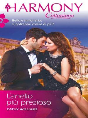 cover image of L'anello più prezioso