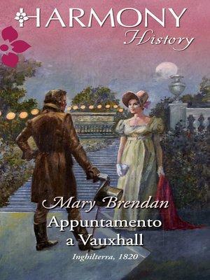 cover image of Appuntamento a vauxhall