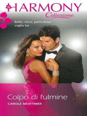 cover image of Colpo di fulmine