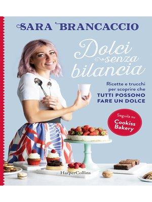 cover image of Dolci senza bilancia