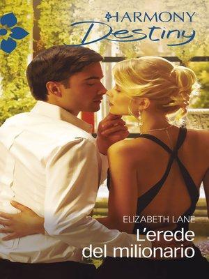 cover image of L'erede del milionario