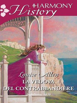 cover image of La vedova del contrabbandiere